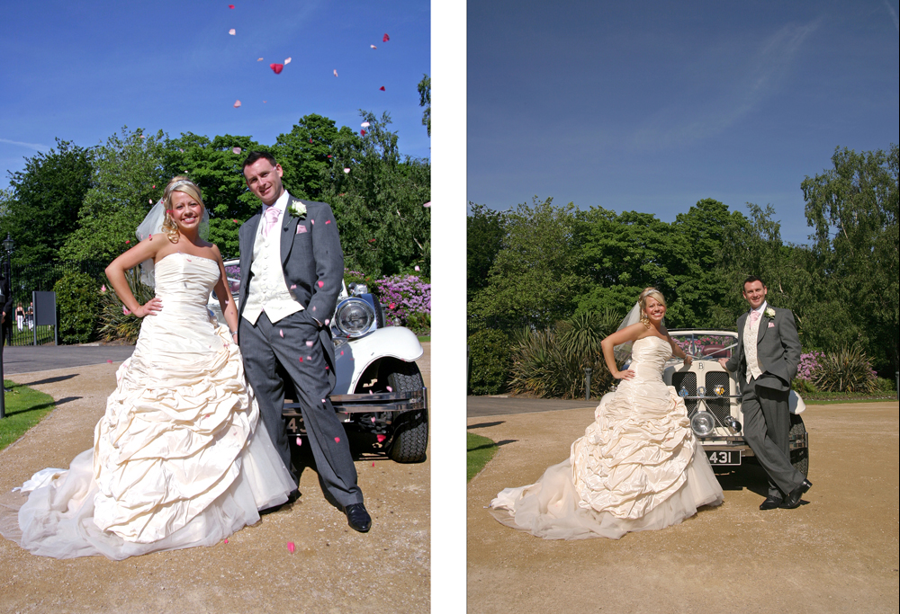 The Wedding of Helen & Rob at the Holy Trinity in Woolton and following reception at The Palm House, Liverpool